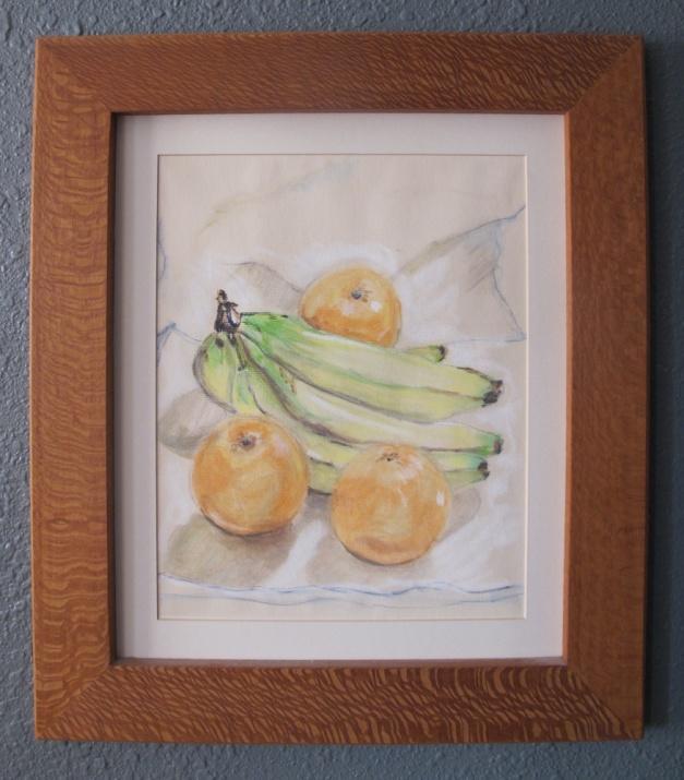 Still Life - Pastel, Lacewood