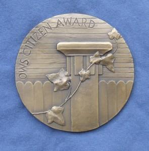 Old West Side Citizen Award - 2014