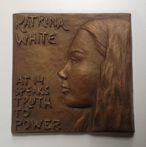 Katrina White at 14 Speaks Truth to Power