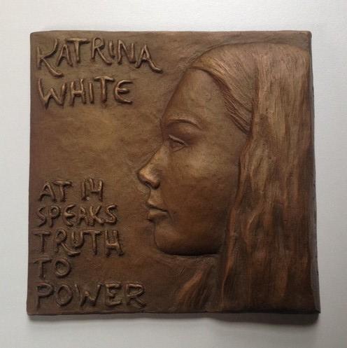 Katrina White at 14 Speaks Truth to Power