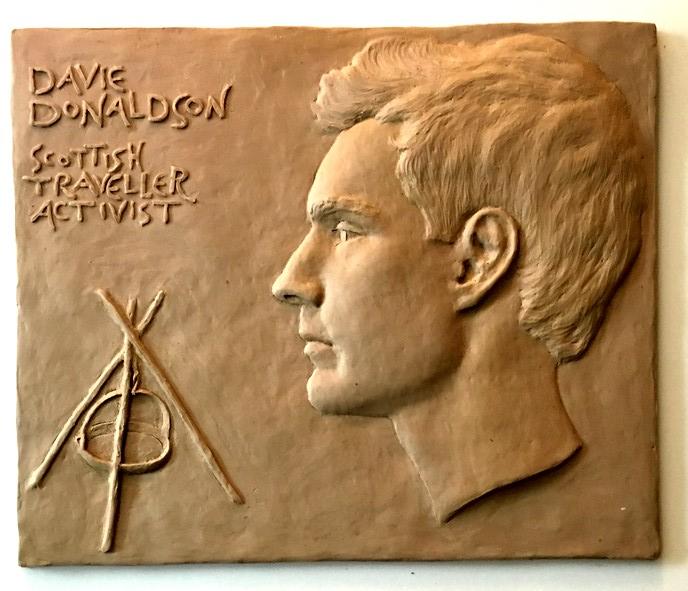 Davie Donaldson medal in the plastilene