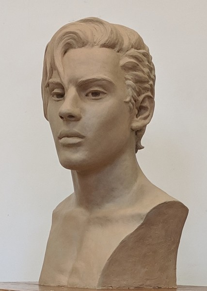 Tyler - in the plastilene; in bronze in the 86th Annual Awards Exhibition of the National Sculpture Society, Brookgreen Gardens, SC August 10 to October 27, 2019