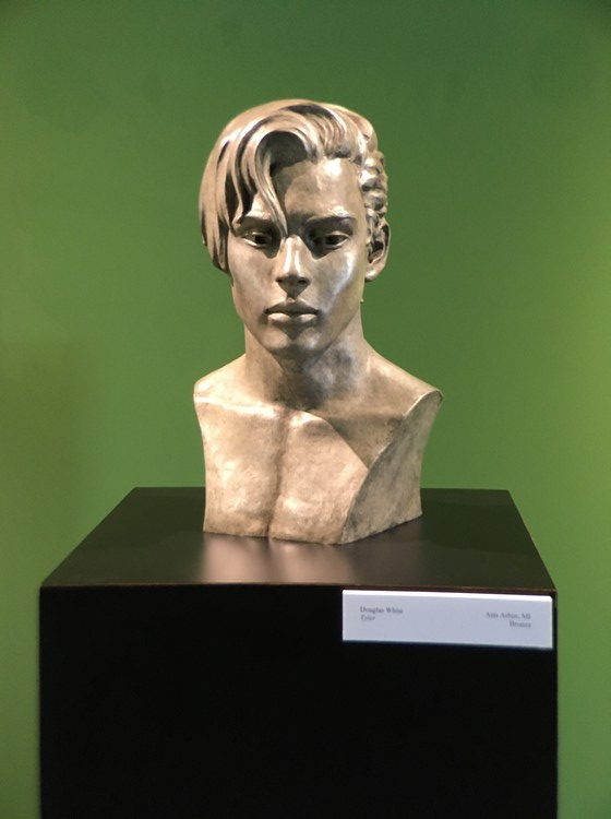 Tyler on exhibit in 86th Annual Awards Exhibit of the National Sculpture Society, Brookgreen Gardens, SC